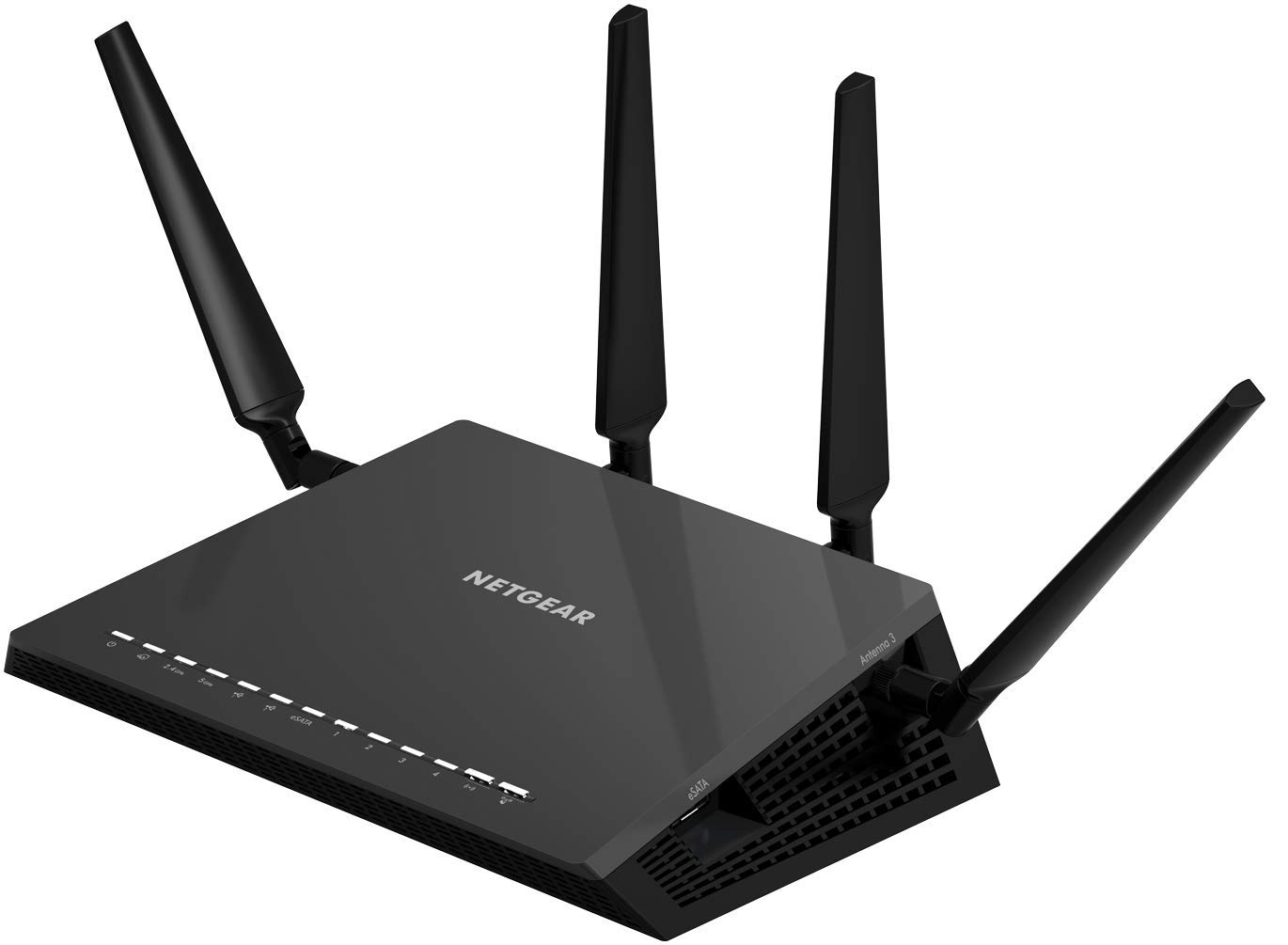 NETGEAR Nighthawk X4S AC2600 4x4 Dual Band Smart WiFi Router, Compatible with Amazon Echo/Alexa (R7800)