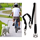 #10: Newest Model Hands Free Dog Bike Leash Bicycle Exerciser Training Leash for Dogs by Synturfmats