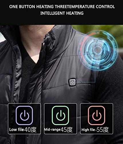 Ajustable Liangg C1 Temperatura Chaleco Eléctrico Usb Calefaccionado Calefactada w7UPF4