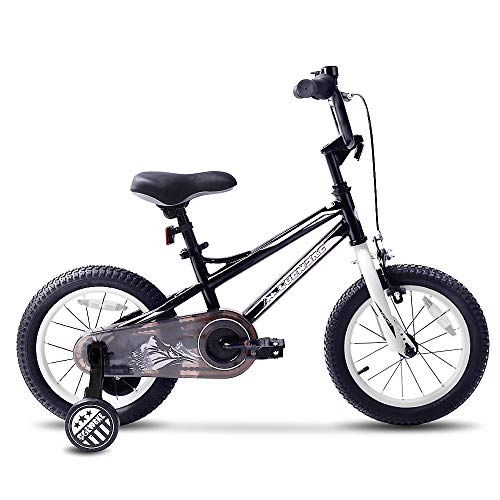 COEWSKE BMX Cycling Kid Bikes Children Bicycle for Girl and Boy 12-16 Inch with Training Wheel(12