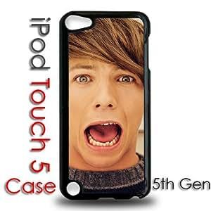 IPod 5 Touch Black Plastic Case - Louis Tomlinson One Direction 1d Pop Star Fans