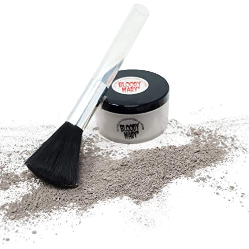 Bloody Mary Makeup Loose Setting Powder, Decayed Rotted Skin -