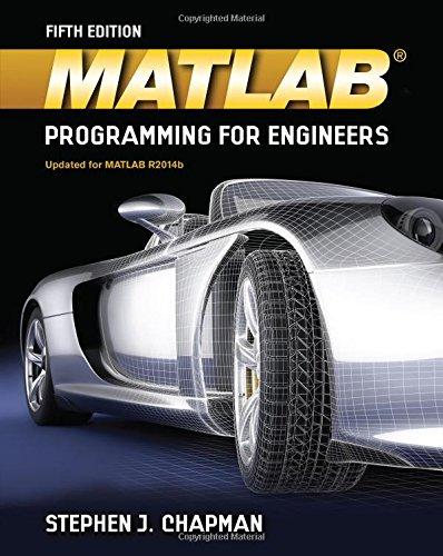 MATLAB Programming for Engineers ISBN-13 9781111576714
