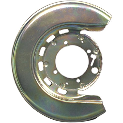 Eckler's Premier Quality Products 25123913 Corvette Brake Caliper Shield Left Rear