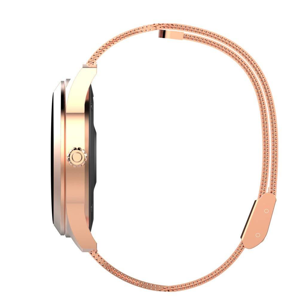 LUXISDE Fitness Bracelet Smartwatch Ladies, Activity Indicator KW10 Smart Watch IP68 Waterproof Wristband for Heart Rate Measurement Fitness by LUXISDE (Image #6)