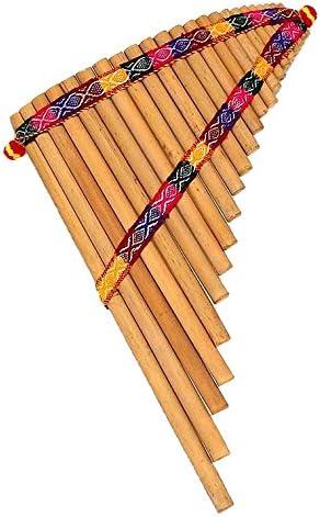 NOVICA Bamboo Andean Zampona Panpipe