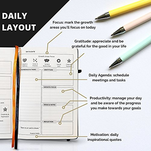 jual goal planner with gratitude journal best daily planner to hit