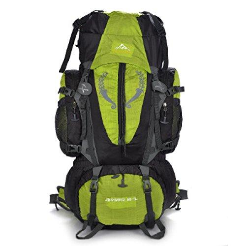 Libre Profesionales Green Impermeable Mochila Hombros Los Del Al black Las Y Recorrido La Alpinismo Gran Hombres Mujeres De Aire Capacidad wfHTYq