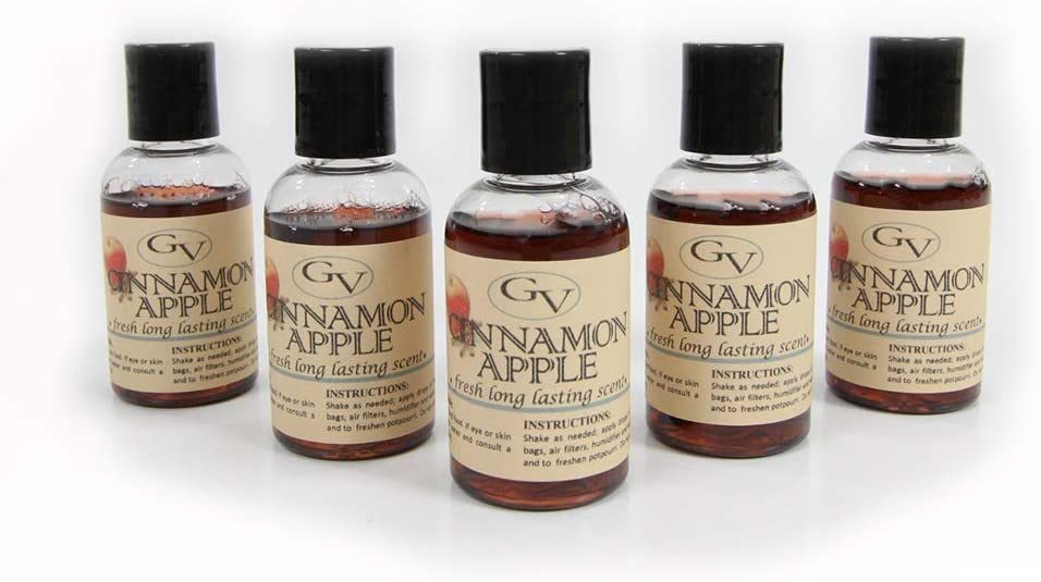 GV Cinco Paquete de Fragancia de la Canela, de la Manzana para el ...