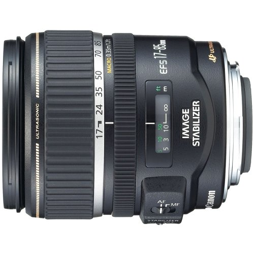 Canon EF-S 17-85mm f/4-5.6 Image Stabilized USM SLR Lens for EOS Digital SLR's - White Box (Bulk Packaging)