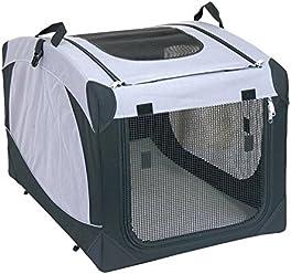 SixBros. Hundebox Transportbox Hundehütte versch. Größen S-XL - 1051/1496