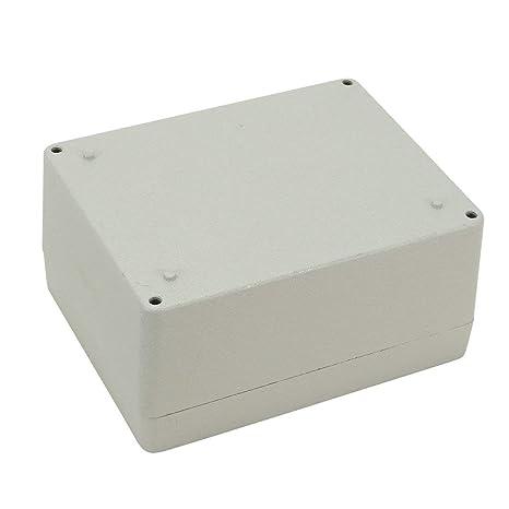 ALCOMPRA Caja de conexiones de aluminio de 4.5
