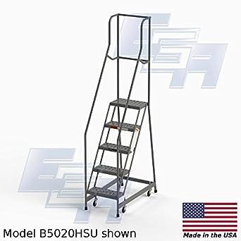 """Ega b5020hsu acero Industrial Rolling escalera 5, 16 """"de ancho perforado banda de"""