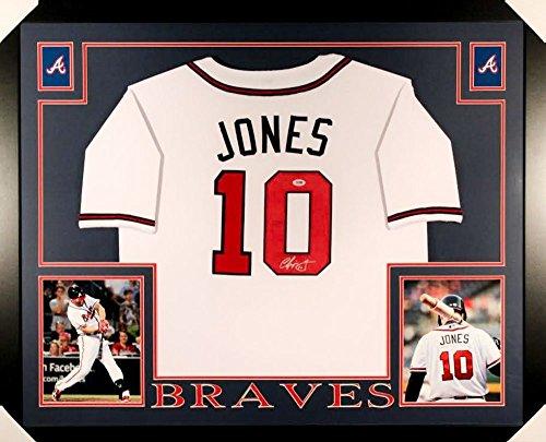 Atlanta Braves Chipper Jones Framed - 9