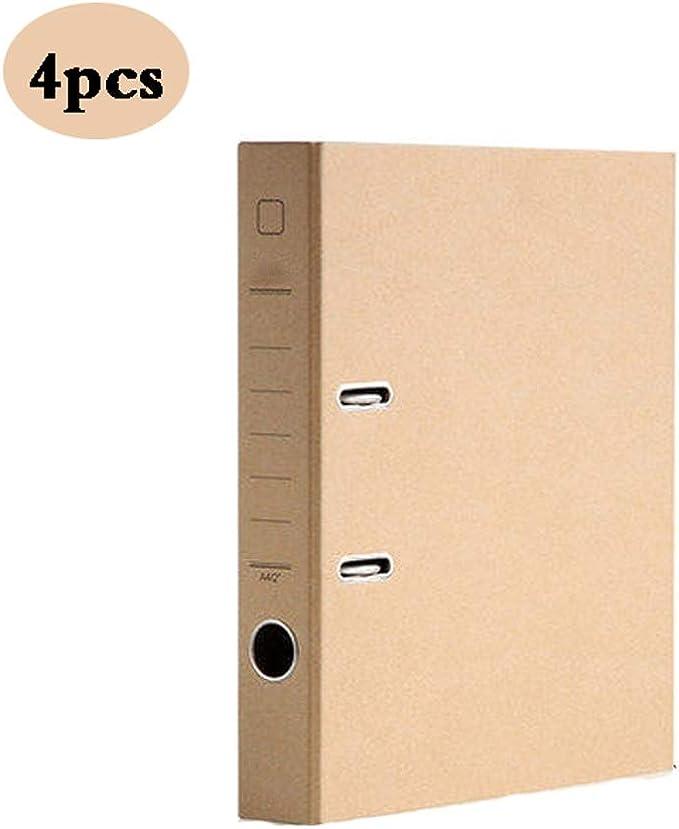 ARCH Carpetas de archivador de Papel A4, Caja de Almacenamiento ...