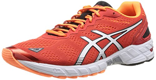 homme White Ds de Gel 19 Asics trail Trainer Rouge Chaussures Orange Flash red 2101 qwTA11xR