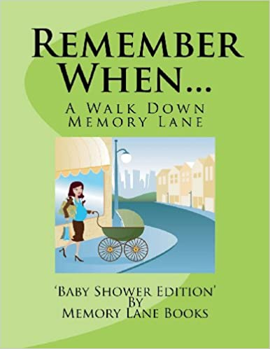 Book Remember When...: Baby Shower Edition