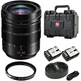Panasonic LUMIX G LEICA DG VARIO-ELMARIT Professional Lens, POWER Optical I.S, 12-60mm Bundle