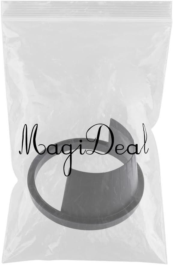 MagiDeal 6.5 Car Speaker Waterproof Cover Car Horn Plastic Spacer Protective Black
