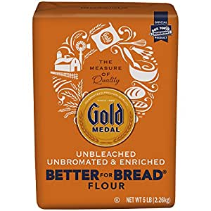 Gold Medal Better For Bread Flour, 5 lb