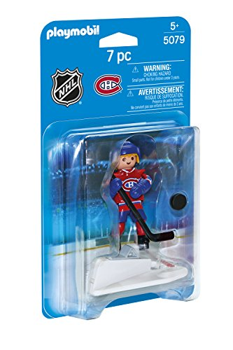 PLAYMOBIL NHL Montreal Canadiens Player - Montreal Canadiens Rink