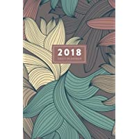 """2018 Daily Planner: 6""""x9"""" 12 Month Planner"""