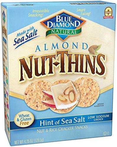 Thins Almond (Blue Diamond Gluten Free Thin Hint of Salt, 4.25 oz)