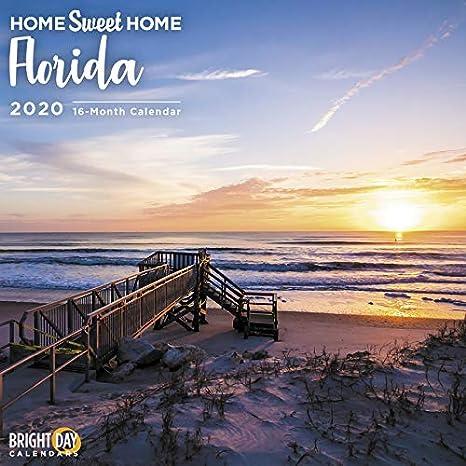 Calendario Serie A 2020 12.Amazon Com Home Sweet Home Wall Calendars By Bright Day