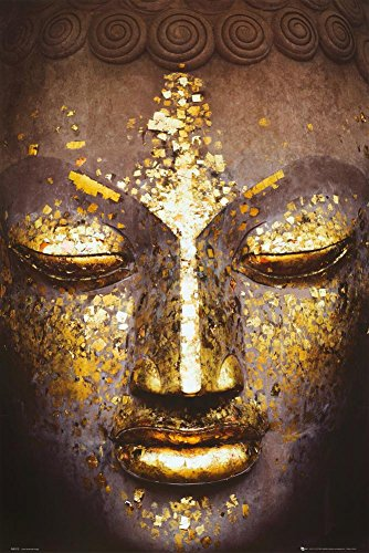 Buddha Golden Inspirational Poster Culture product image