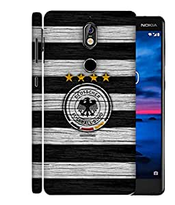 ColorKing Football Germany 20 Multi Color shell case cover for Nokia 7