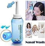 Croing (300ml bottle) Nasal Wash Bottle/Nasal Rinsing/Nose Washing/Sinus Rinse/Nasal Rinse/Nasal Lavage