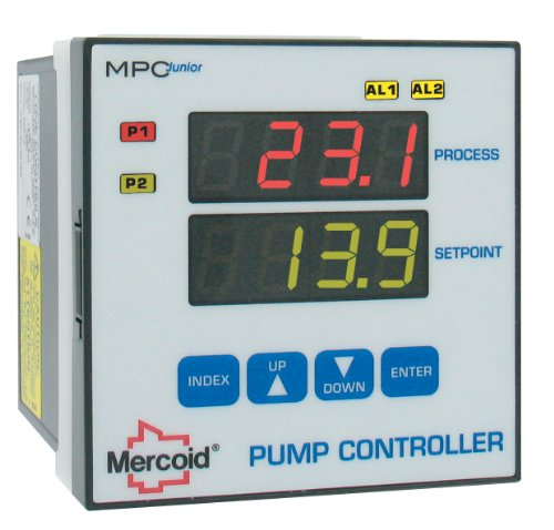 - Mercoid Pump Controller, MPCJR, 1 or 2 Pump Control, Built-In Alternation
