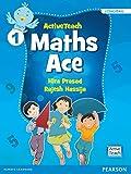Active Teach: Maths Ace for CBSE class 1 by Pearson
