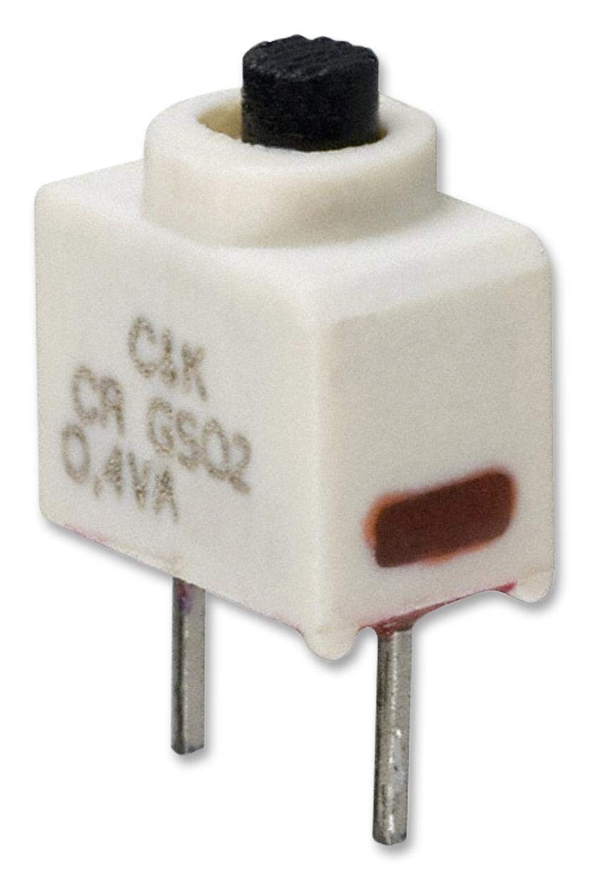 GS02MCBE - Slide Switch, SPST, Vertical, Through Hole, 20 V RoHS Compliant: Yes (Pack of 5) (GS02MCBE) by C & K COMPONENTS