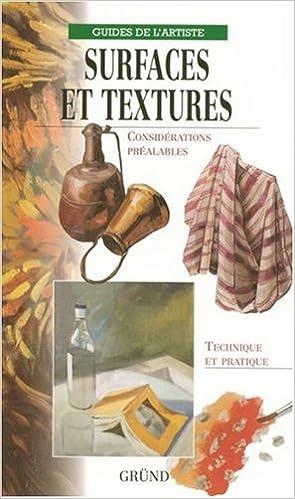 Livre Surfaces et textures pdf, epub