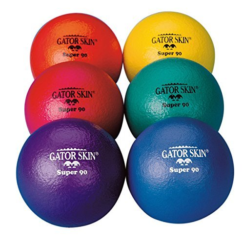 S&S Worldwide UA027-6C 3.5'' Gator Skin Super 90 Ball (Pack of 6) by S&S Worldwide