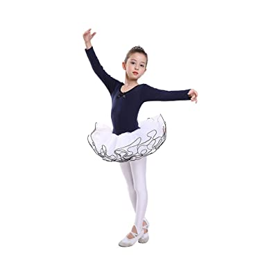 Amazon.com: hanmate niños niñas de manga larga gimnasia ...