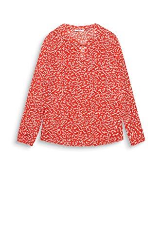 Esprit 630 Red edc by Multicolore Femme Blouse wSqnwzfRxT