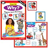 Magnetic ''Why?'' Board Game - Super Duper Educational Learning Toy for Kids