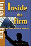 Inside the Firm, Harvey Leibenstein, 1583485309