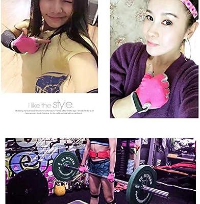 ZAQXSW Guantes de Fitness Equipo de Bicicleta de Spinning Femenino ...
