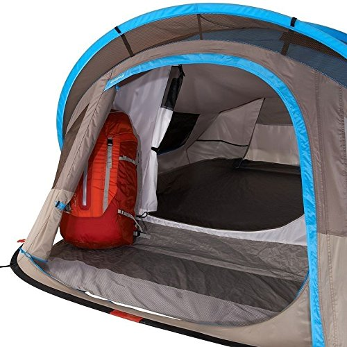 Amazon.com  Quechua Waterproof Pop Up C&ing Tent 2 Seconds XL AIR III 3 Man Double Lining  Sports u0026 Outdoors  sc 1 st  Amazon.com & Amazon.com : Quechua Waterproof Pop Up Camping Tent 2 Seconds XL ...