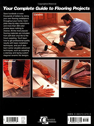 Flooring Projects & Techniques (Black & Decker Home Improvement Library) by Creative Pub Intl (Image #1)