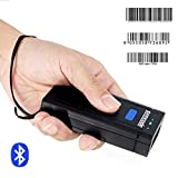 USB Bluetooth Barcode Scanner,Symcode 1D Mini Wireless Handheld Laser Barcode Scanner Reader for POS/Android/iOS/iMac/Ipad with Bluetooth 4.0 Receiver