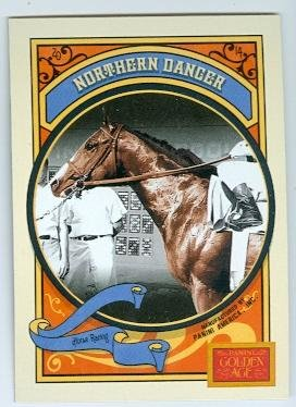 Northern Dancer trading card (Horse Racing 1964 Kentucky Derby Winner) 2014 Panini Golden Age #77