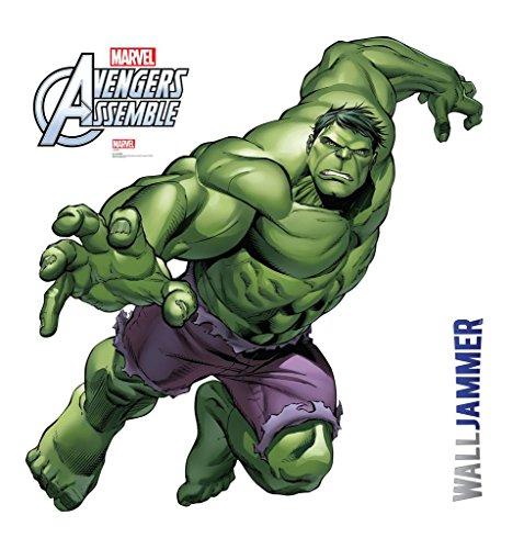 Marvel avengers wall mural for Avengers wall mural amazon