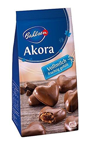 Bahlsen - Akora - Vollmilch Fruchtig GefÃllt - 150g