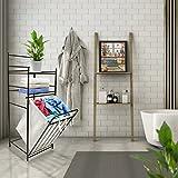 Sorbus Bathroom Tower Hamper Organizer - Features