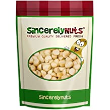 Sincerely Nuts Raw Macadamia Nuts Unsalted - One Lb. Bag – Uncompromised Natural Taste - Amazingly Nutritious - Freshly Sealed, Kosher