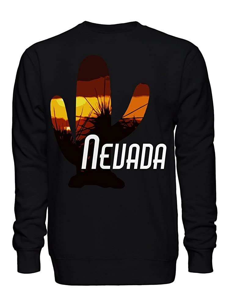 graphke Nevada Cactus Summer Heat Design Unisex Crew Neck Sweatshirt